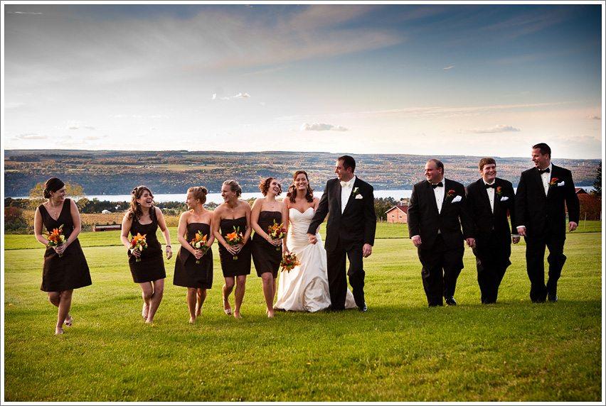 Fall Finger Lakes Wedding Seneca Lake