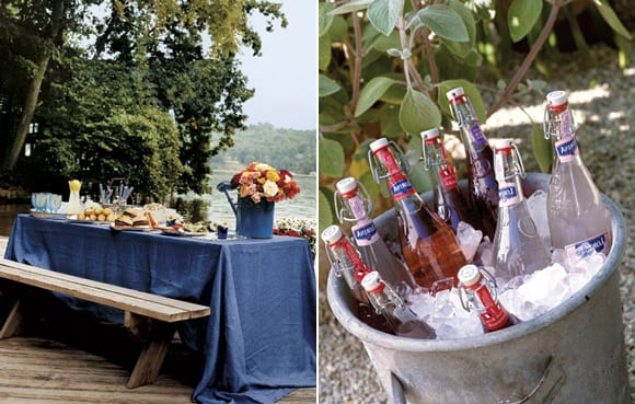 Pretty party inspiration from country living the for Backyard party decoration ideas