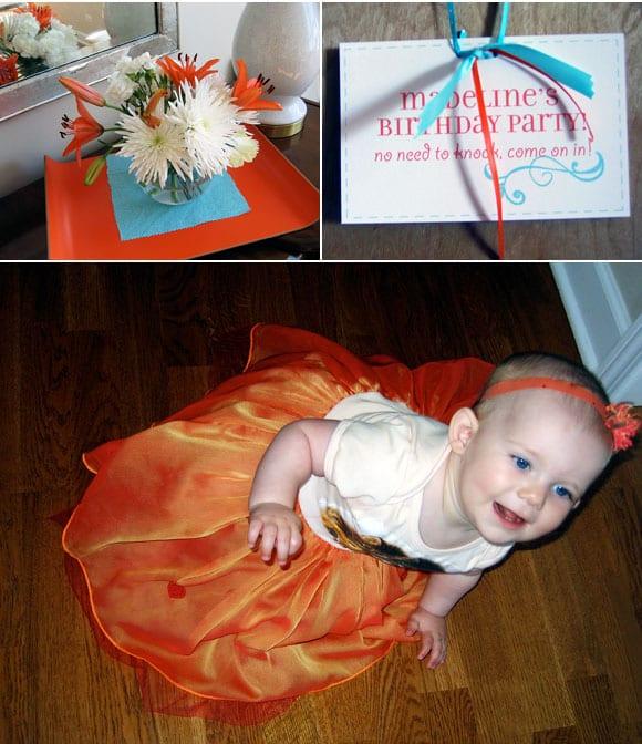 blue-orange-birthday-party-decorations