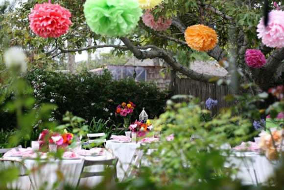 bright-colors-outdoor-wedding-bridal-shower-party