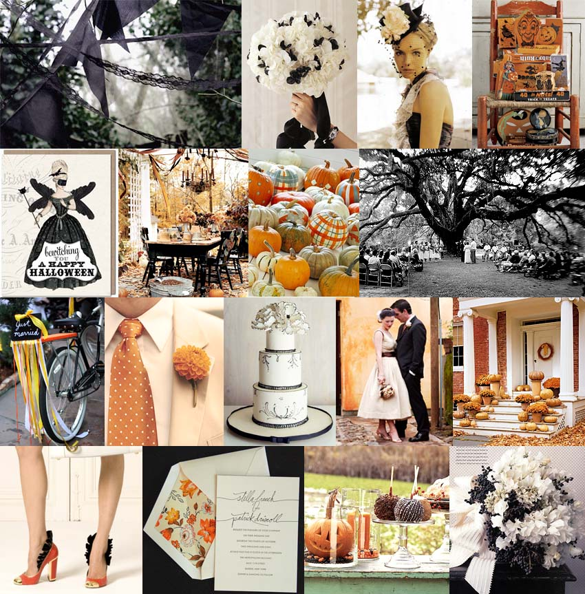 Wedding Ideas And Inspirations: Halloween-wedding-inspiration-board