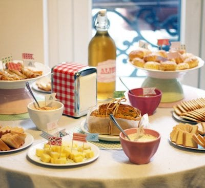 Vintage-Inspired Party Tablescapes from Morning by Foley thumbnail
