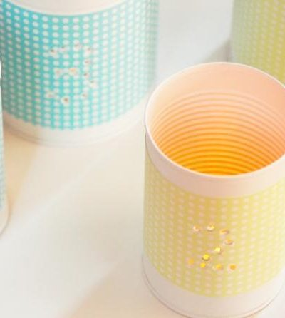 DIY Punched Tin Votive Holders thumbnail