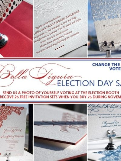 Bella Figura Election Day Sale – Change the World. Vote! thumbnail