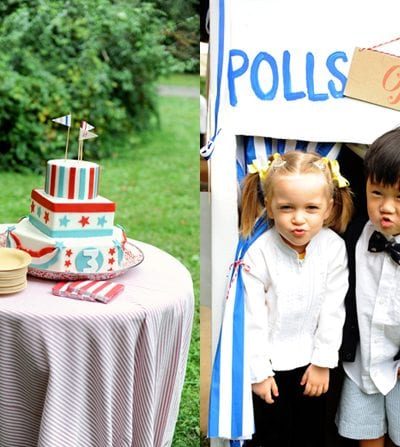 Election Themed Red White and Blue Birthday Party thumbnail