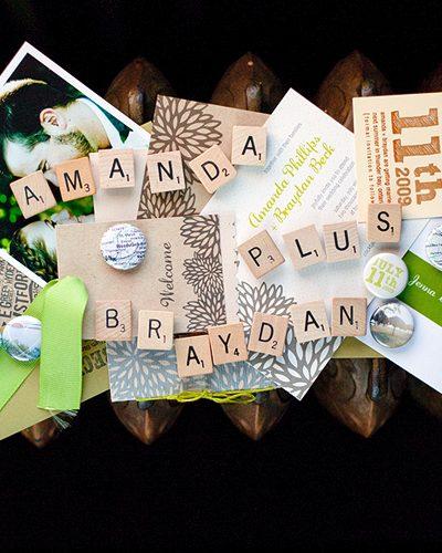 DIY Gocco Wedding Invitations on Oh So Beautiful Paper thumbnail