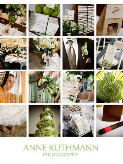 Green and Brown Wedding Inspiration thumbnail