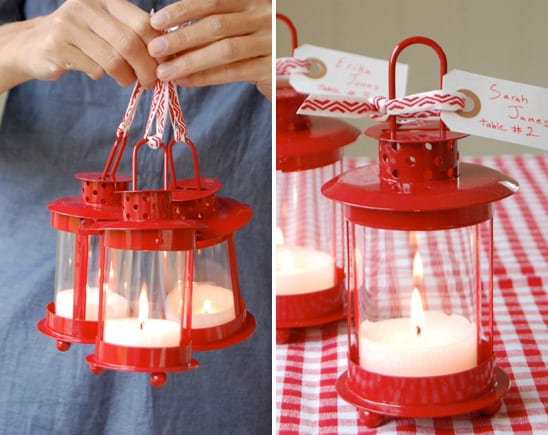 lanternscenterpiecesweddingfavors Once upon a time when planning my own