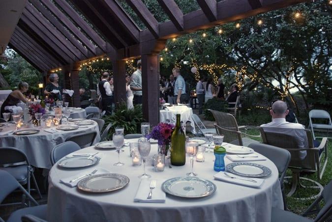 Purple Backyard Wedding : pinkpurpleoutdoorwedding
