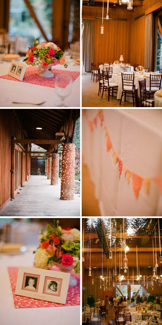 rustic-barn-wedding-reception-hanging-lights-fabric-bunting-red-white-pink-wedding