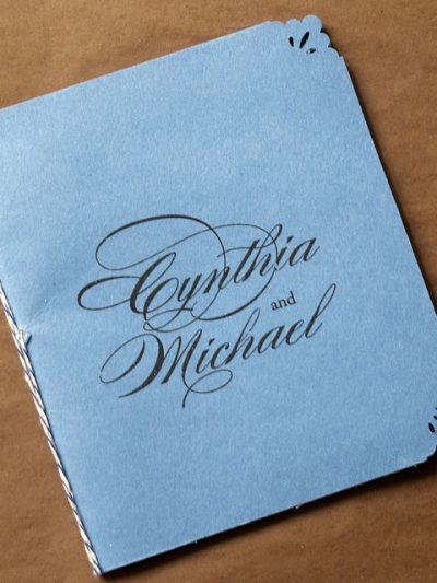 Our Wedding Ceremony Programs on Oh So Beautiful Paper thumbnail