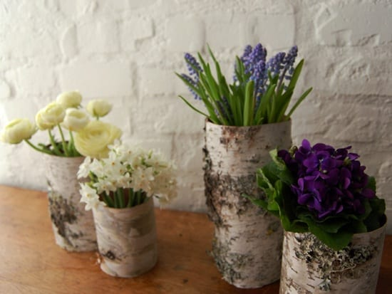 birch-vases-centerpieces-winter-flowers