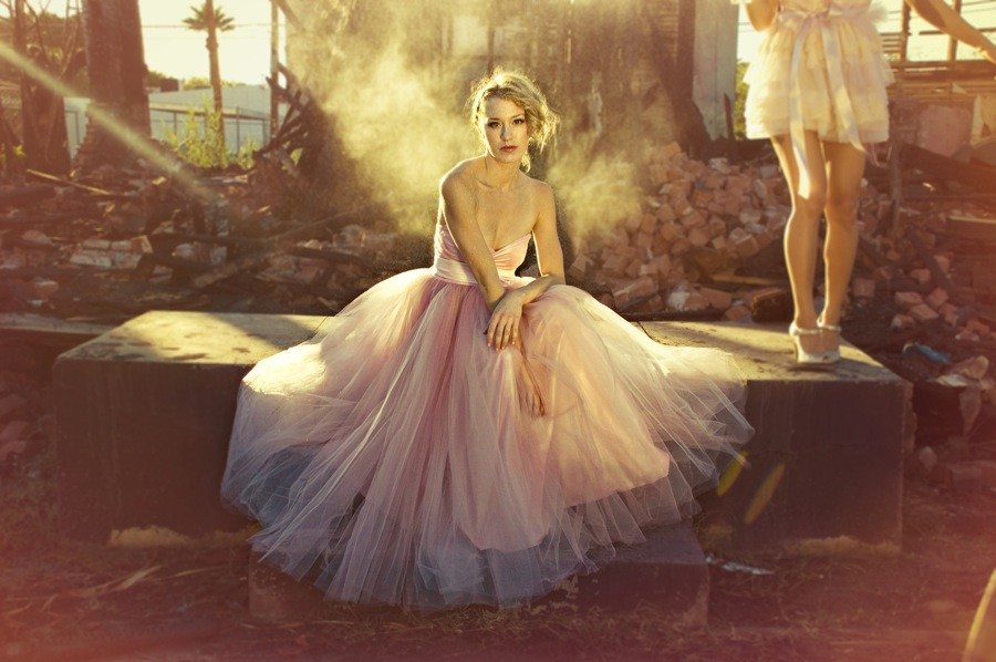 The Perfect Pink Wedding Dress The Sweetest Occasion