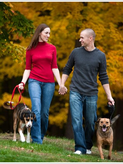 Puppy Love – Engagement Session by Megan Dailor thumbnail