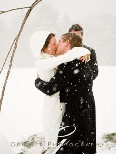 A Snowy Winter Wedding thumbnail