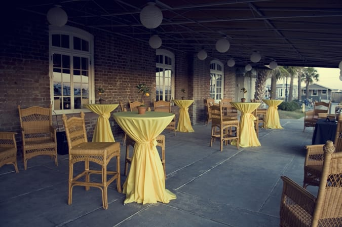 Pretty yellow charleston wedding the sweetest occasion