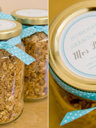 DIY Favors – Homemade Granola thumbnail