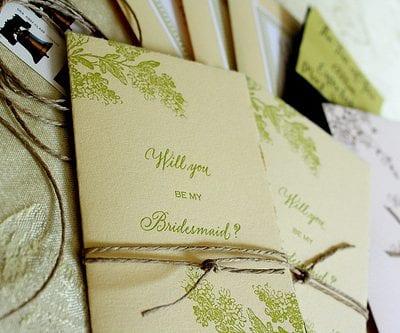 Semi-DIY Will You Be My Bridesmaid Cards thumbnail