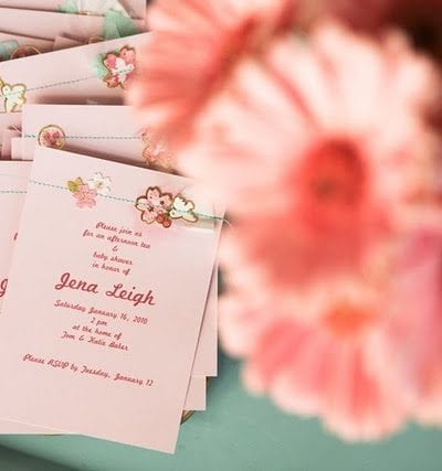 Pink Baby Shower Invitations thumbnail