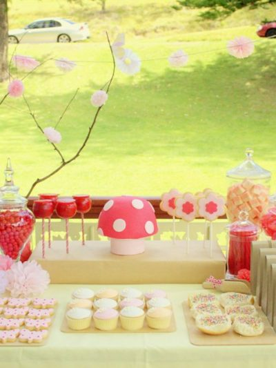 Pink Fairy Garden Birthday Party thumbnail