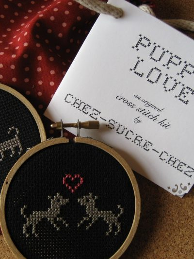 DIY Cross Stitch Kits from Chez Sucre Chez thumbnail