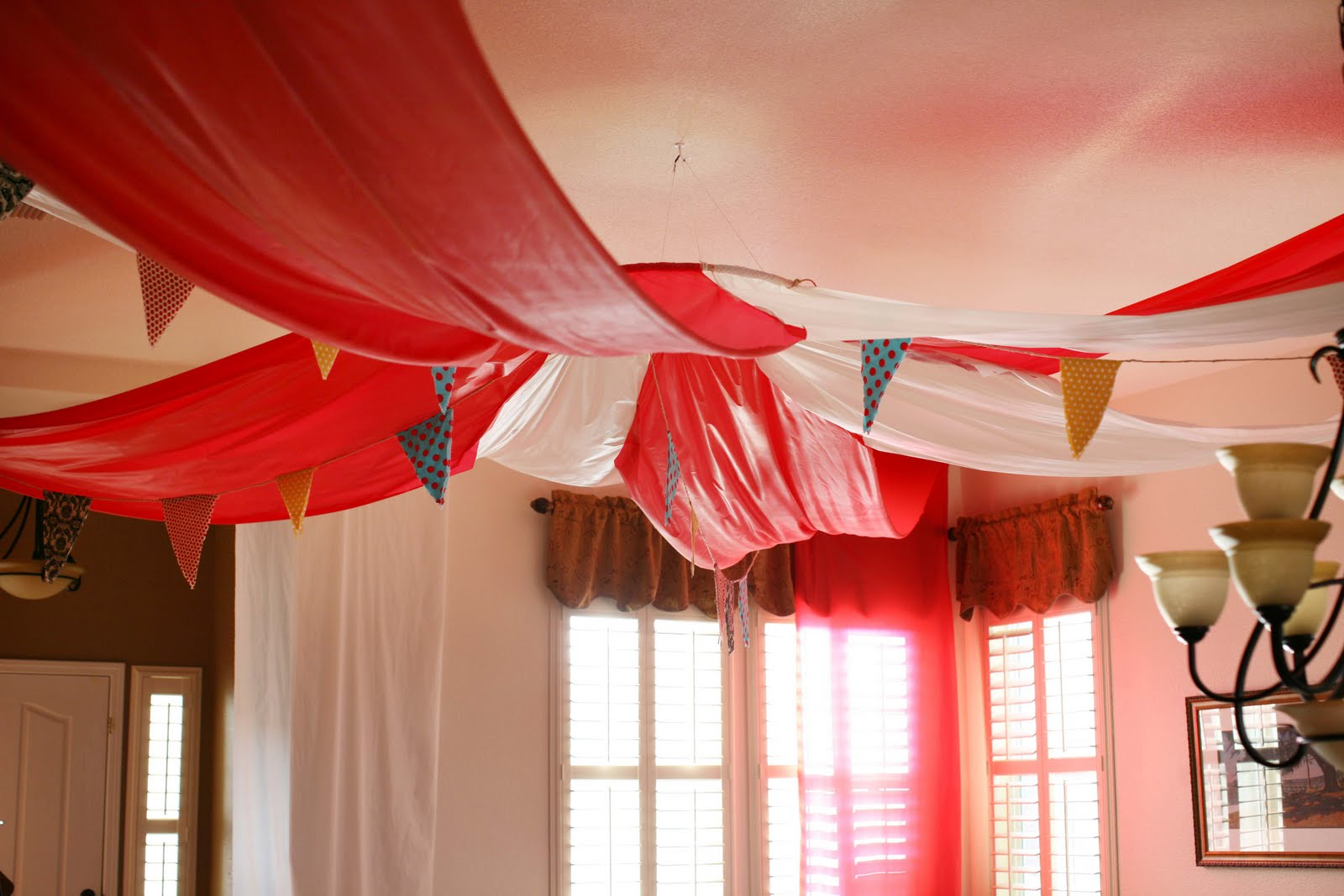 Halloween Fabric Tablecloth