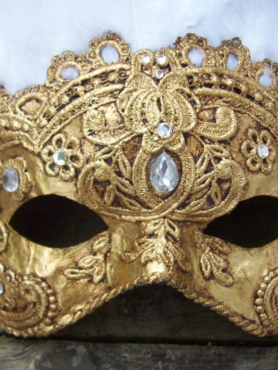 Handmade Mardi Gras Masks from Lady In the Tower thumbnail