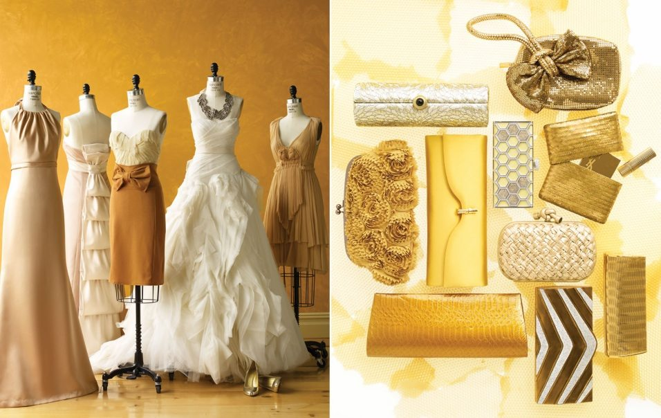 Gold Yellow Mustard Wedding Color Palette
