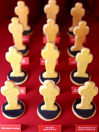 Academy Awards Sugar Cookies thumbnail