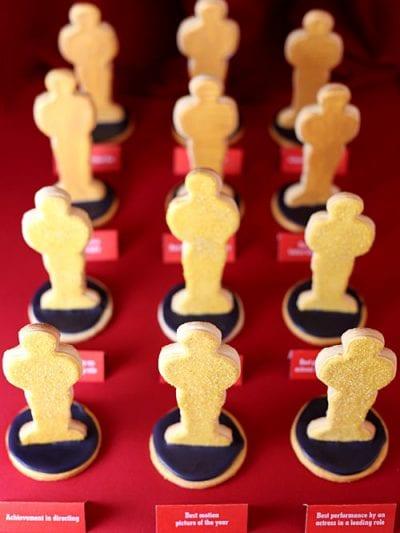 Academy Awards Sugar Cookies thumbnail