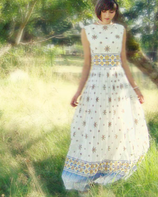 patterned vintage wedding dress the sweetest occasion