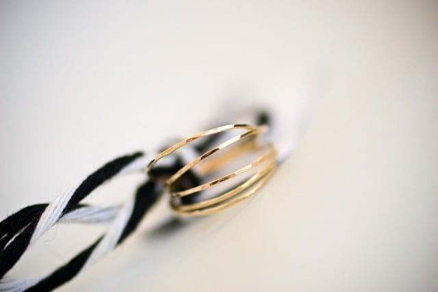 Handmade Wedding Bands from oli me The Sweetest Occasion