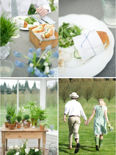 A Greenhouse Picnic Wedding thumbnail
