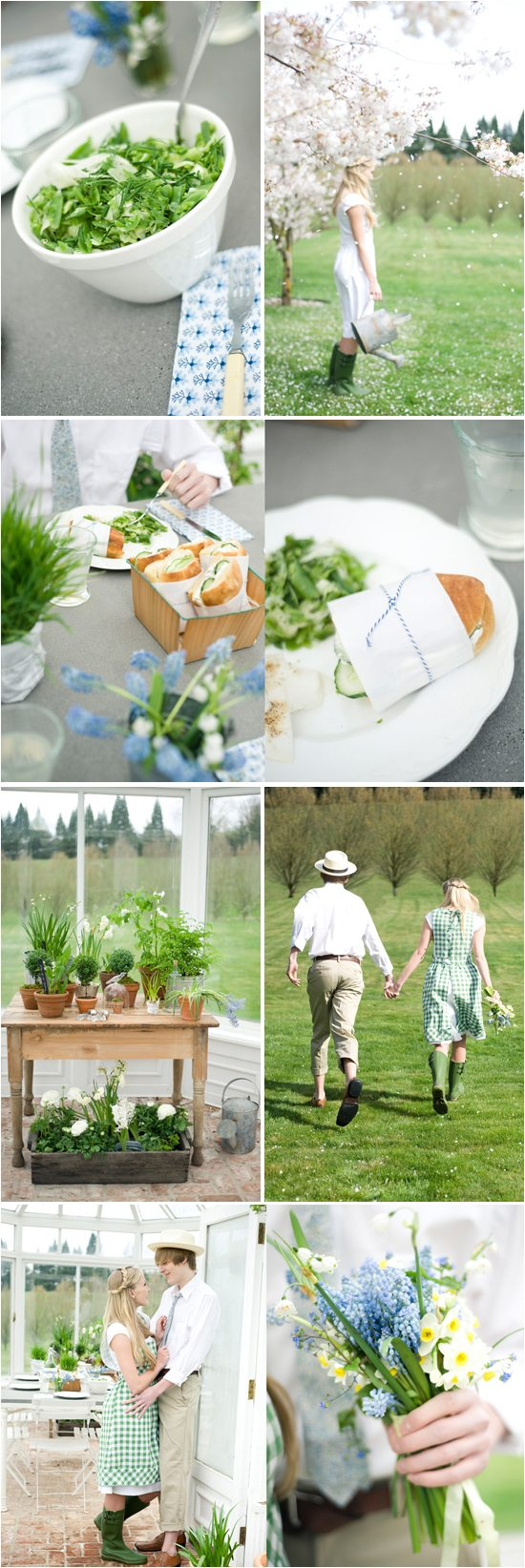green-white-greenhouse-summer-wedding-picnic-budget-friendly-wedding-ideas