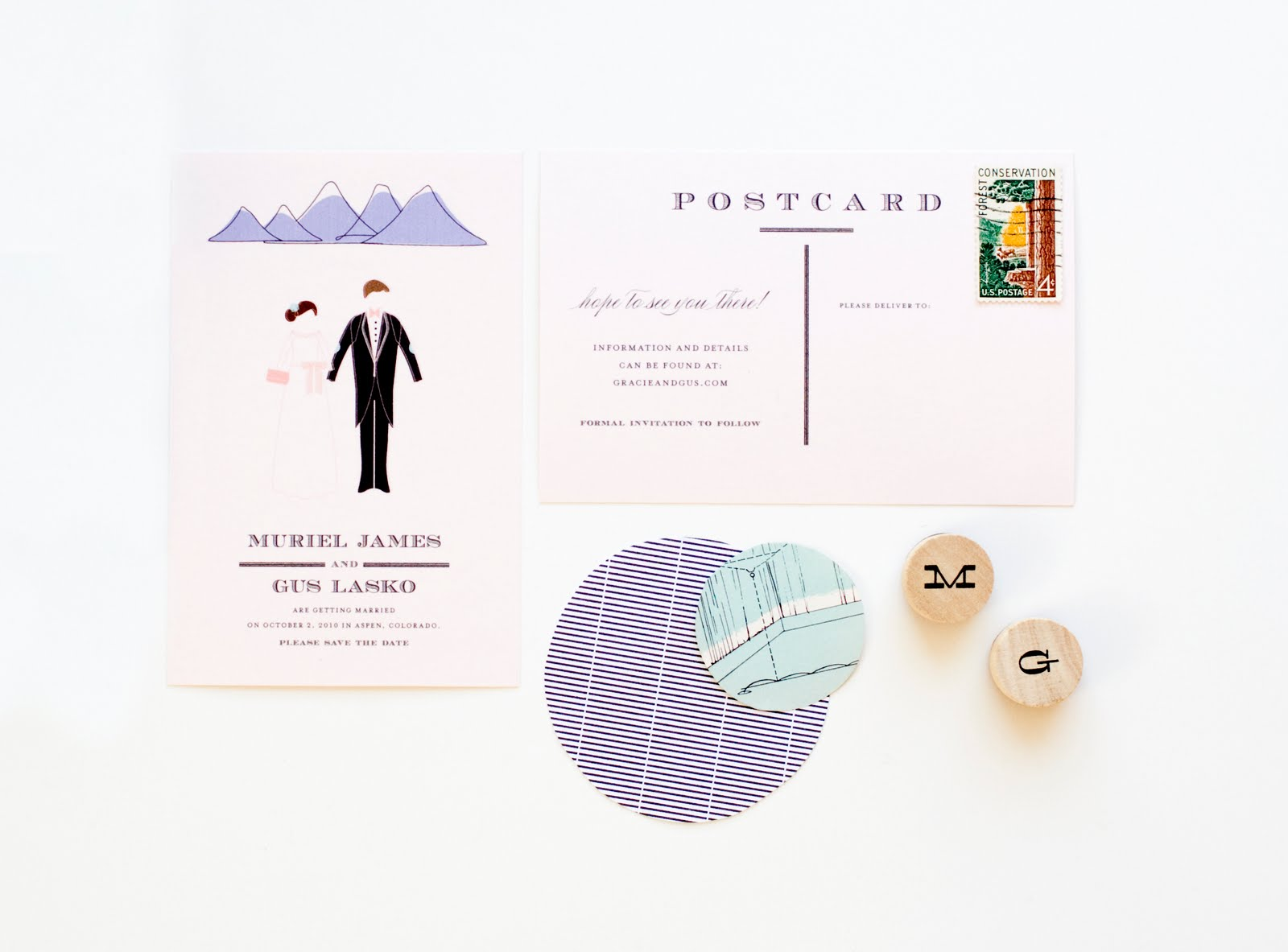 Mountain Wedding Invitations images