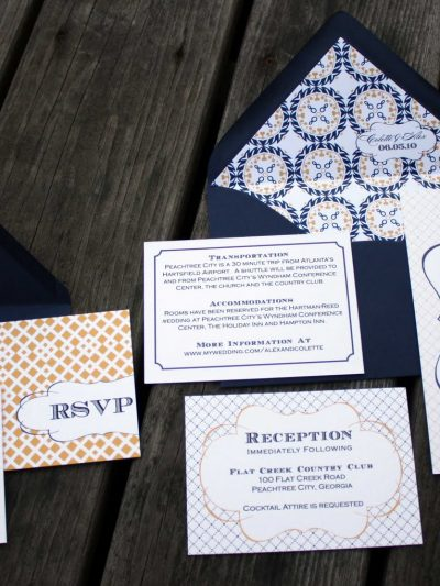 Madeline Wedding Invitations by Fourth & Folded thumbnail
