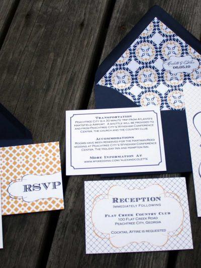 Madeline Wedding Invitations by Fourth & Folded thumbnail