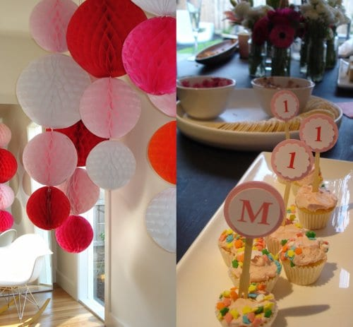 pink-red-fuchsia-white-birthday-party-decorations-ideas