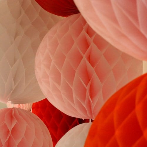 pink-red-white-crepe-paper-tissue-honeycomb-balls-party-decorations