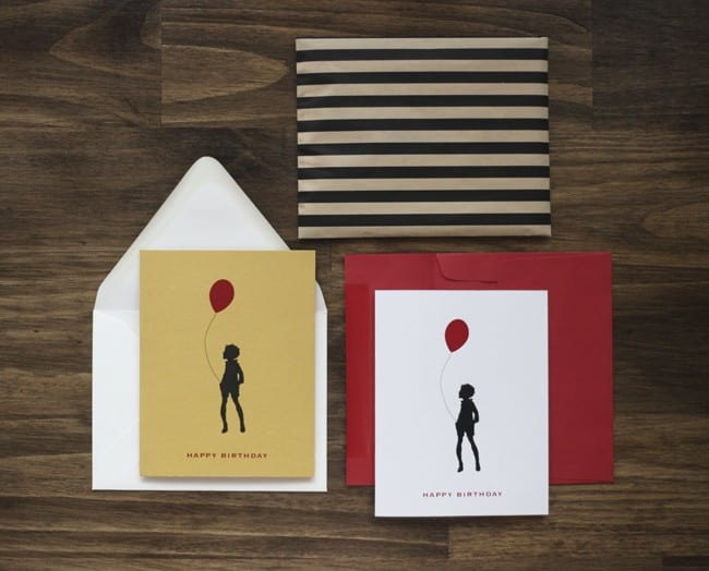 redballoonbirthdaycardetsy The Sweetest Occasion – Birthday Cards Etsy