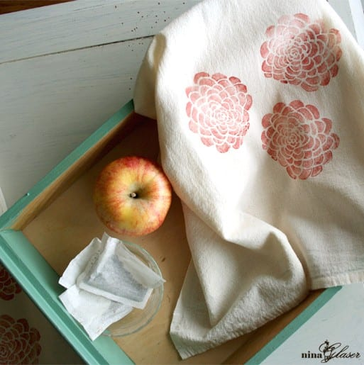 rose-peony-block-printed-linen-tea-towel