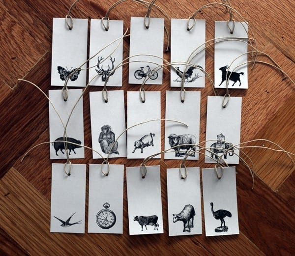 vintage-animal-stamped-favor-gift-tags-wedding-favor-ideas - The ...