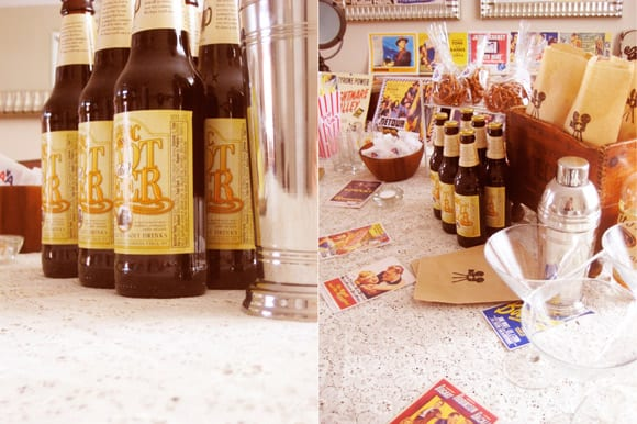 vintage-hollywood-oscar-party-root-beer-favors