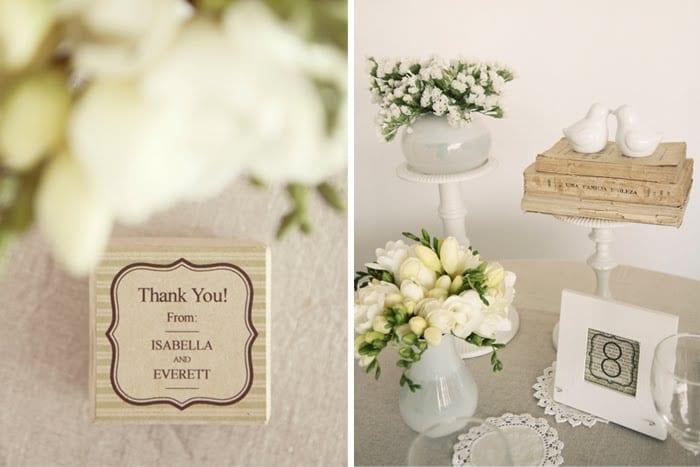 vintage-inspired-wedding-ideas Vintage Table Numbers