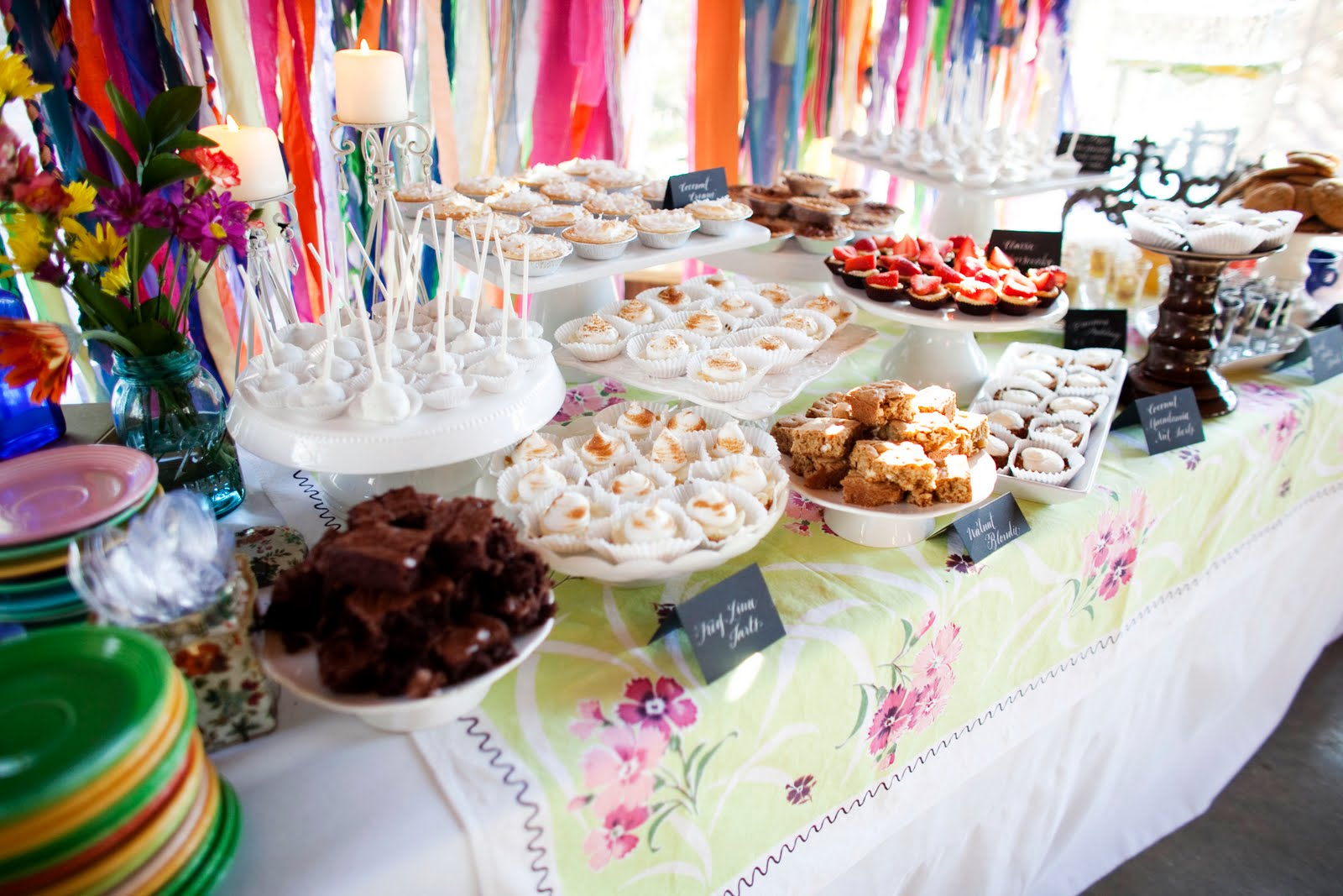 Homemade Dessert Buffet  The Sweetest Occasion — The Sweetest