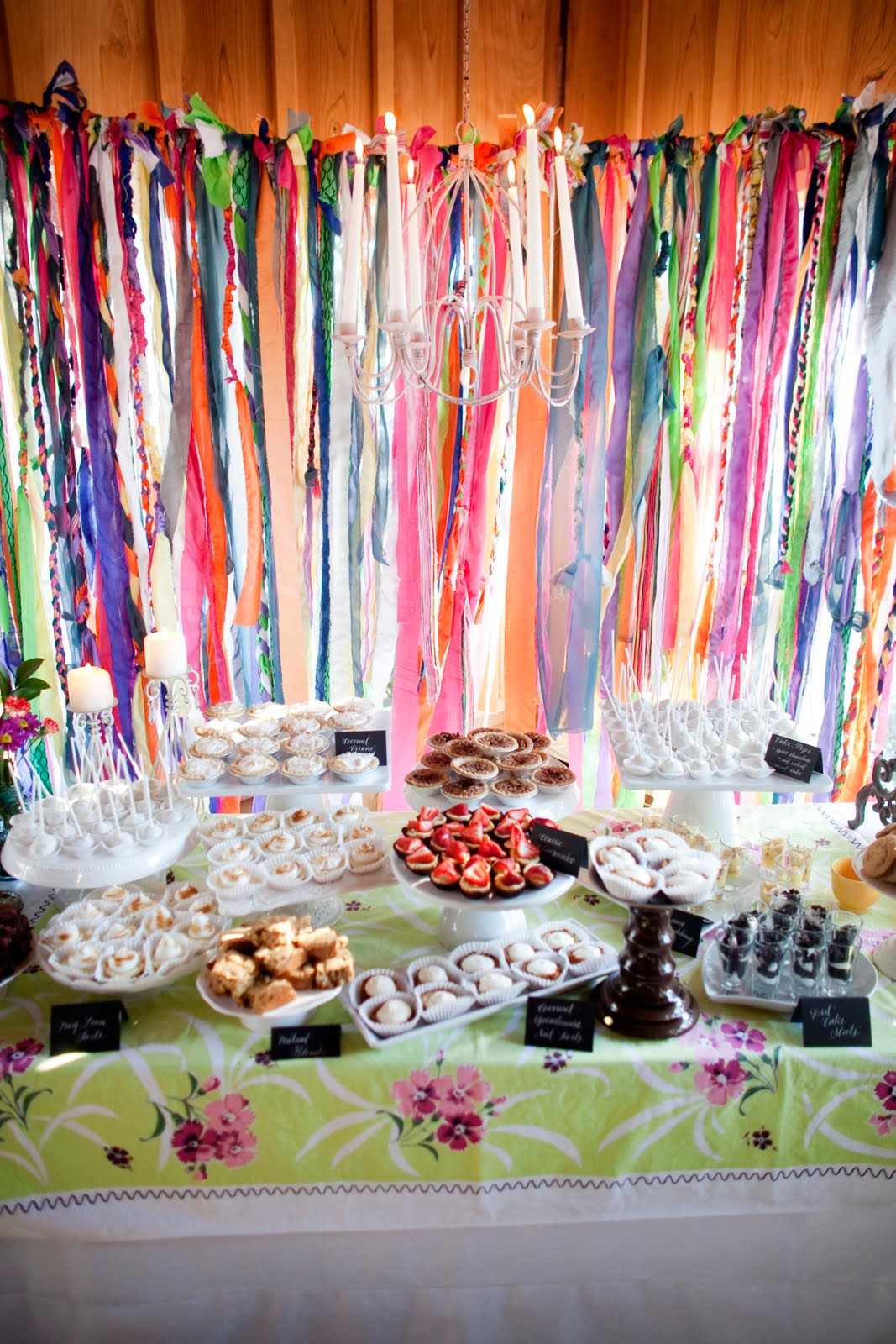 Homemade dessert buffet the sweetest occasion - Decoracion fiestas vintage ...