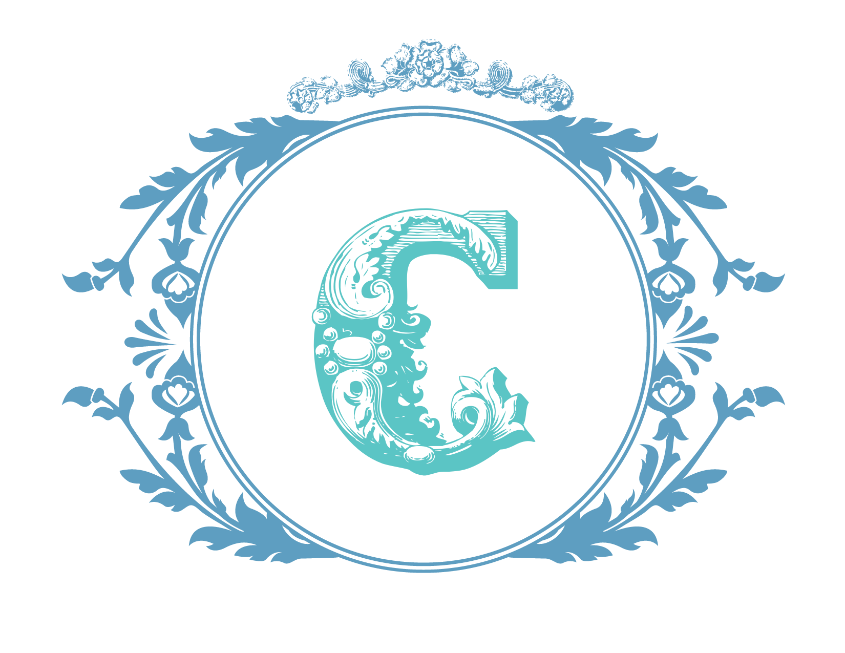 Free custom monogram download from wedding chicks the for Free monogram template