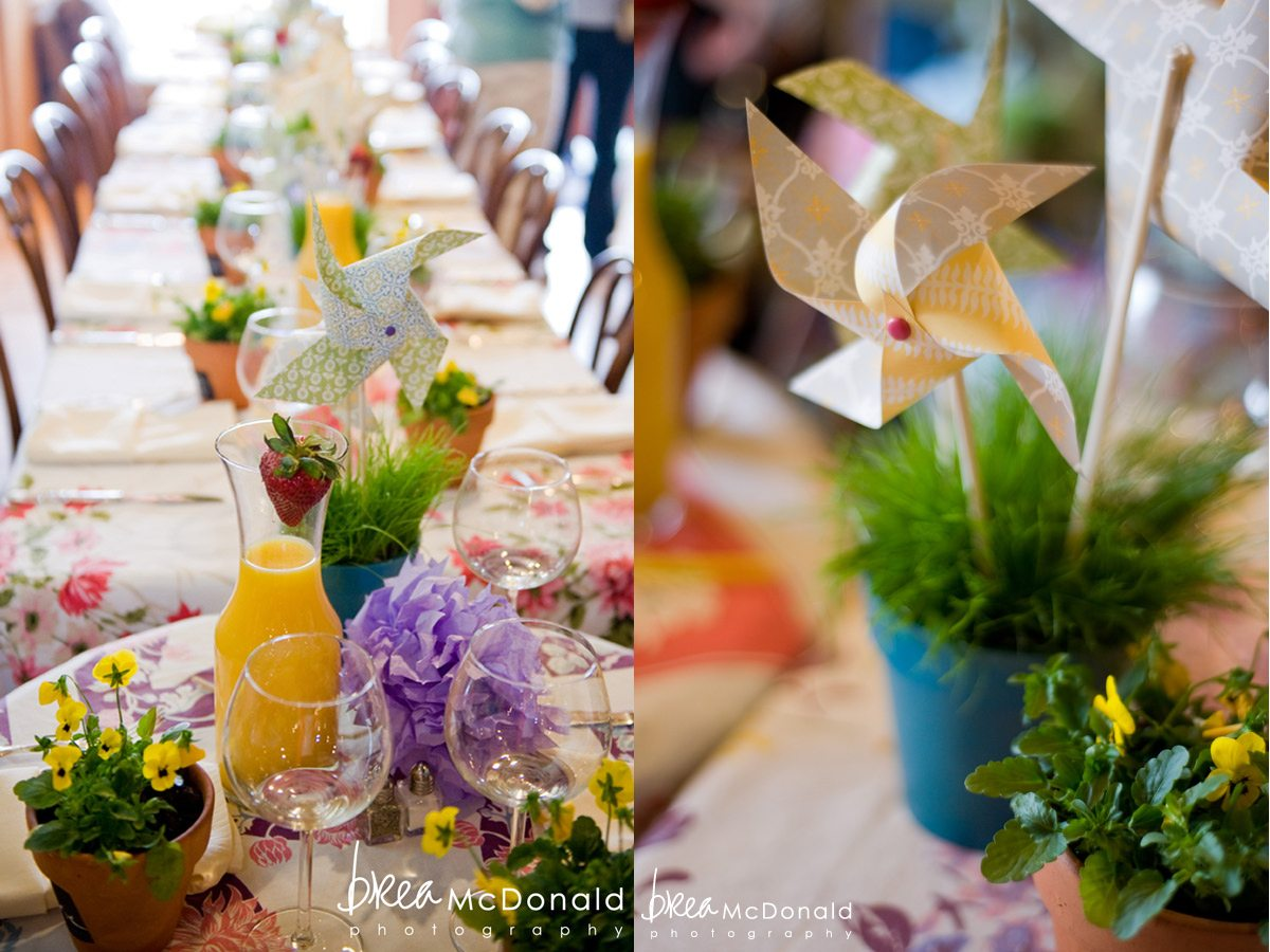 Diy Paper Pinwheels Baby Shower Themes Spring Brunch Decor