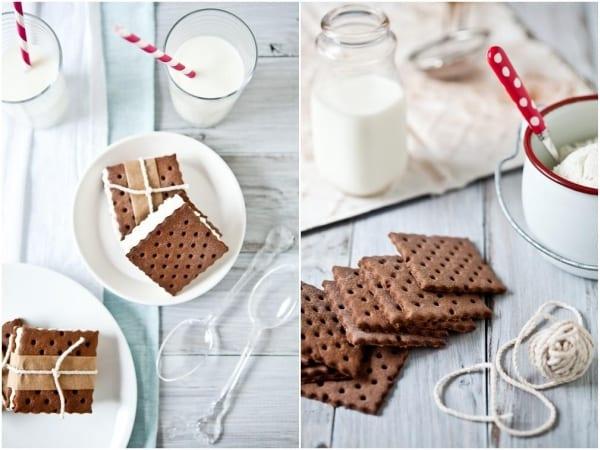 Vanilla Bean Chocolate Ice Cream Sandwiches Recipes — Dishmaps