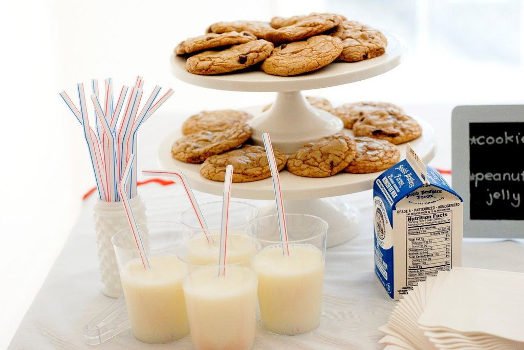 Handful Of Chocolate Chip Cookies & A Glass Of Milk Recipes ...